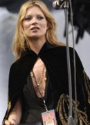Kate Moss vomits at Isle of Wight festival