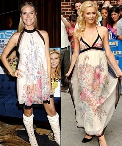 Heidi Klum is Paris Hilton\'s inspiration...