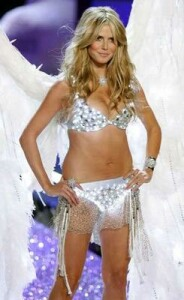 Heidi Klum designs new Victoria Secret bra...