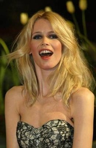 Claudia Schiffer wants to be a fashion agent...