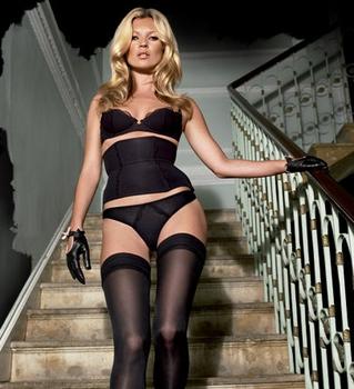 Kate Moss brings lingerie website to a crashing halt!