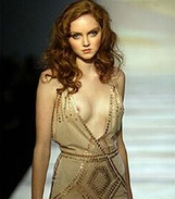 Lily Cole hits back at skinny model criticism