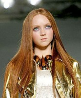 Lily Cole plans to be model student