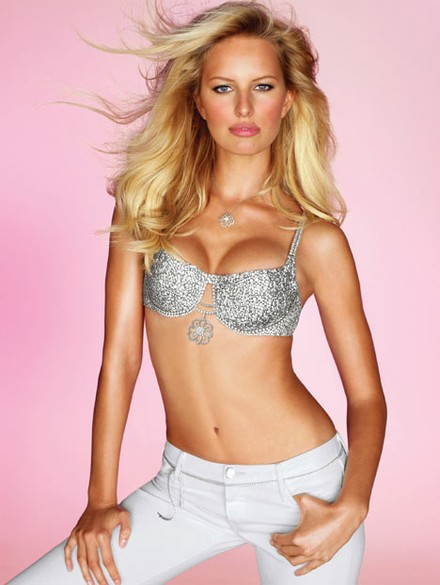 Karolina Kurkova and the $6.5million diamond bra...