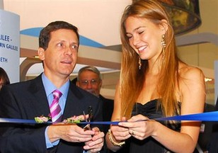Bar Rafaeli at London world tourism fair