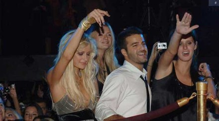 ... and then Paris Hilton puked during performance...