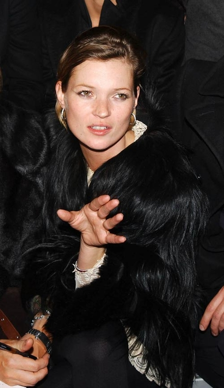 ... and Kate Moss sparks fur fury!