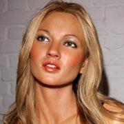 Kate Moss turns to wax...
