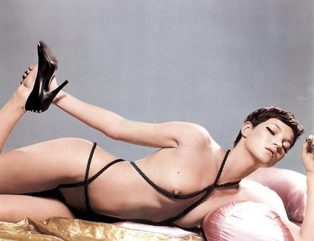 Demanding Kate Moss...