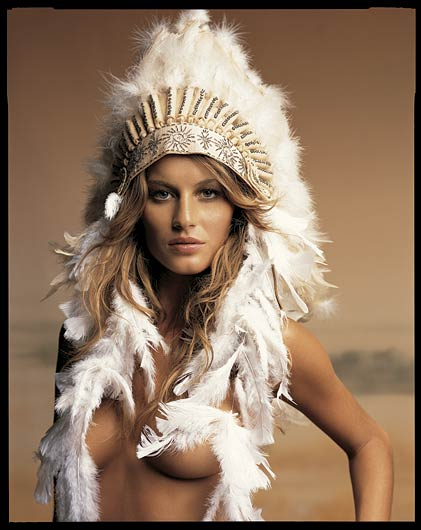 Gisele Bundchen signs to Cacharel