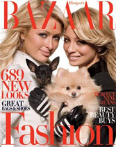 Nicole Richie & Paris Hilton do Harper\'s Bazaar