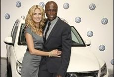 Heidi Klum and Seal take on Role as New Volkswagen Brand Ambassadors