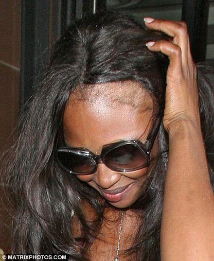 Oi! Naomi! Just keep your hair on, love...