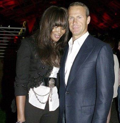 Naomi Campbell parties the night away before her community service stint in an East End soup kitchen