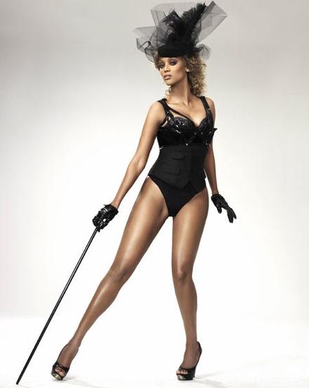 Tyra Banks slims down