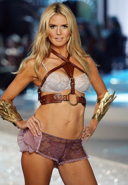 Heidi Klum Too Fat For Catwalk
