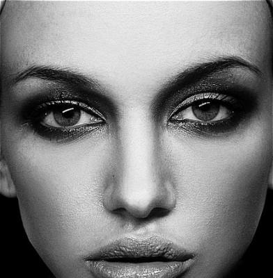 Serbian model posed for Pirelli Calendar