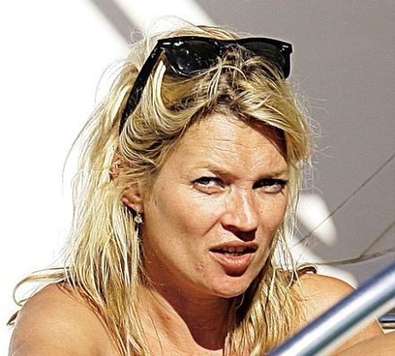Kate Moss' Plan to Knock 10 Years Off Her Face