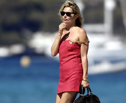 Kate Moss left red-faced after mixing Ant and Dec up