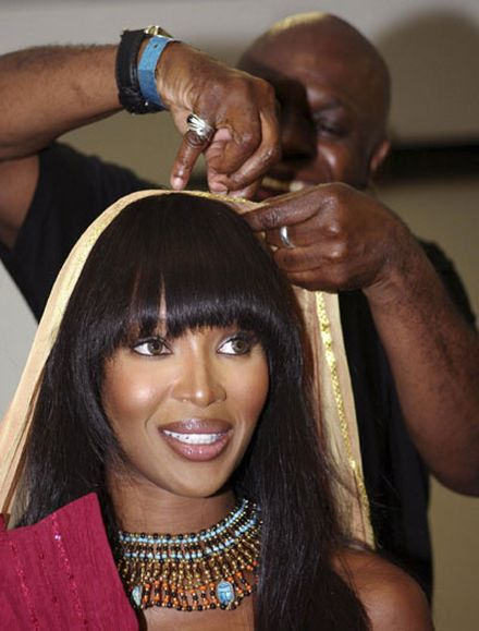 Naomi Campbell at 5th Fashion for Relief charity fundraiser