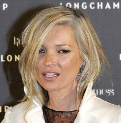 Hair dye disaster for Kate Moss as she reveals greying locks at handbag launch