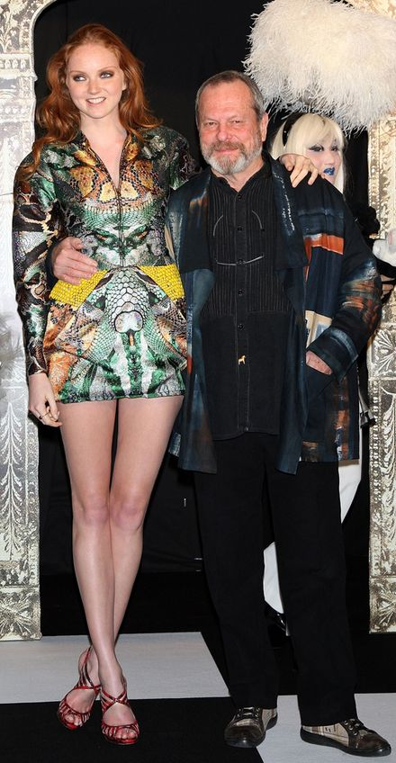 Lily Cole & Terry Gilliam Premiere \'Imaginarium\' In Japan