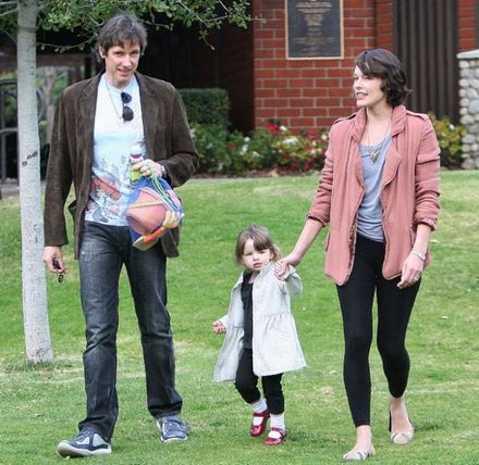 Happy as Ever: Model mum Milla Jovovich totally devoted to adorable daughter
