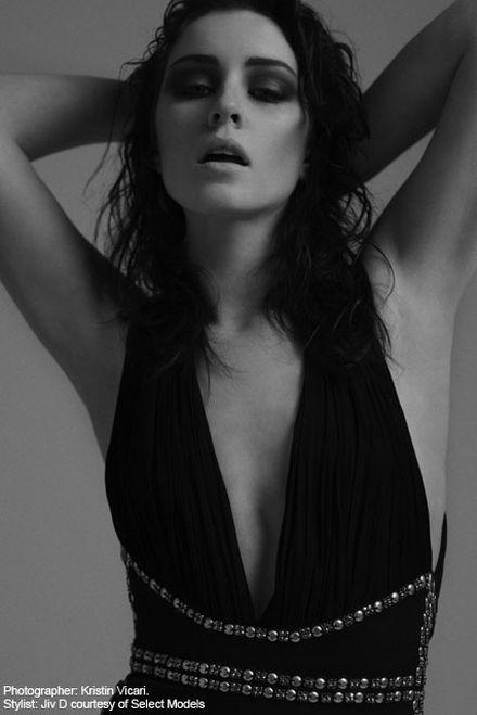 FIRST LOOK! Lucie Jones releases debut modelling shots