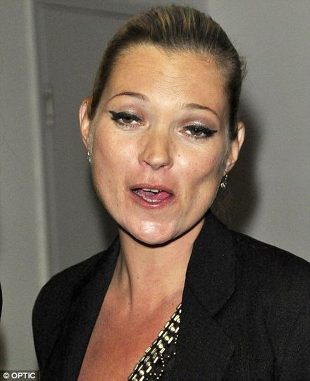 Kate Moss unairbrushed: Would you hire this face to sell your clothes, perfume or make-up?