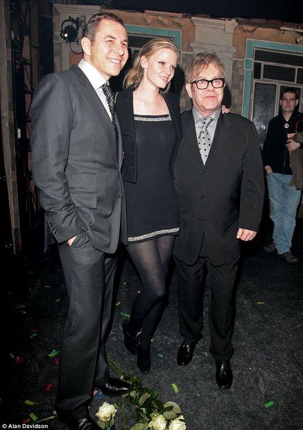 David Walliams and Lara Stone celebrate Billy Elliot\'s fifth anniversary