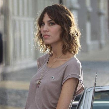 Alexa Chung returns to her modelling roots as face of new fragrance