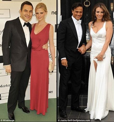 White dress black tie