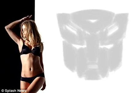 Rosie Huntington-Whiteley\'s Transformers role with a video displaying her talent