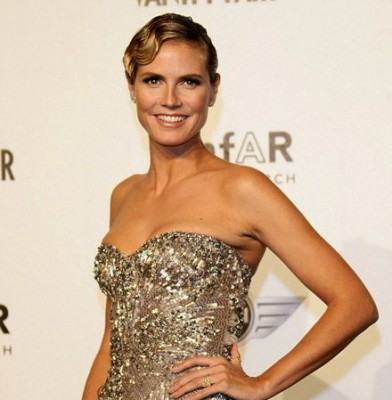 Heidi Klum returns to model style after ditching the grunge