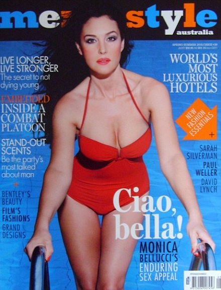 46-year-old Monica Bellucci is a simply stunning cover girl