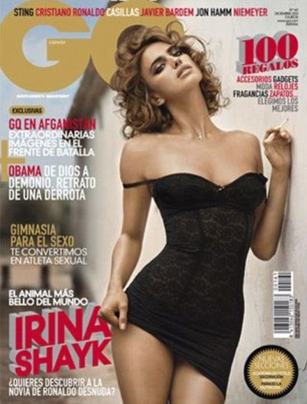 Irina Shayk attacks GQ for Photoshopping her images
