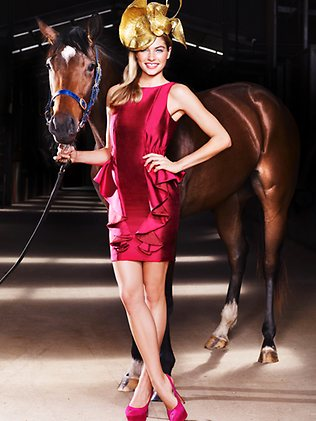 Supermodel Jess Hart the face of Magic Millions Carnival 2011