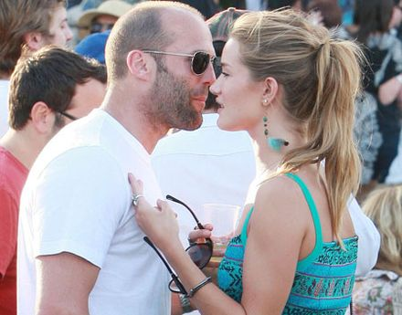 Jason Statham and Rosie Huntington-Whiteley shack up together