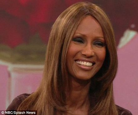 \'He still ties my shoes for me\': Iman reveals how David Bowie makes her feel special