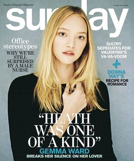 Gemma Ward poses for first fashion spread in years
