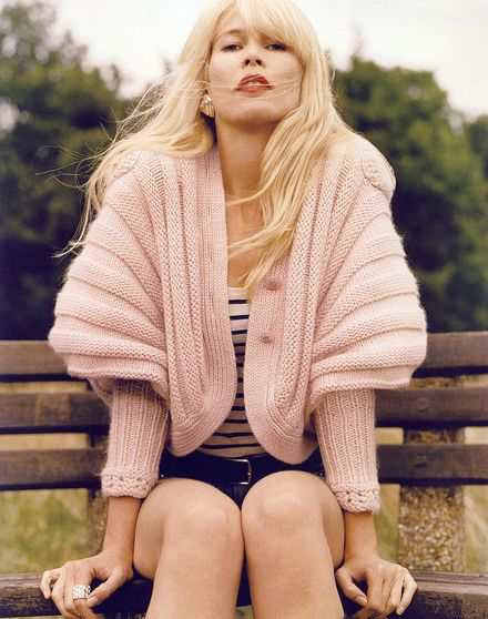 Claudia Schiffer to launch her own cashmere collection