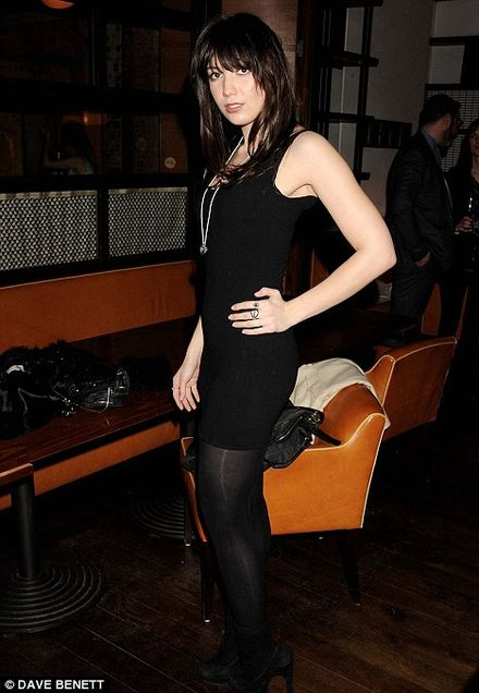 Daisy Lowe drops a dress size in her quest