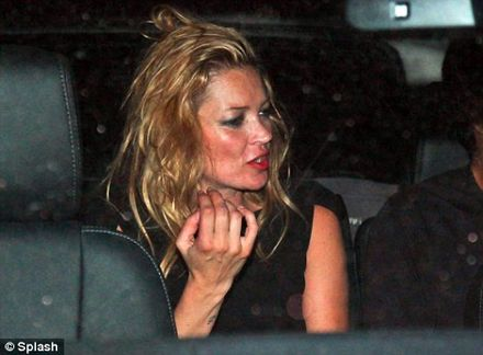 Kate looks more than a little worse for wear in Sao Paulo