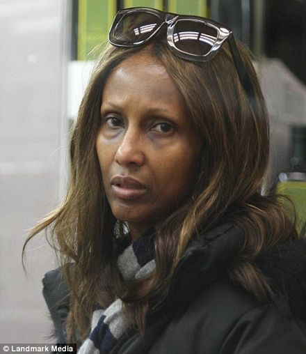 Supermodel Iman is almost unrecognisable