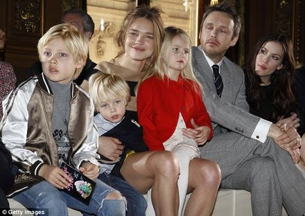 A day in the life of supermodel supermum Natalia Vodianova