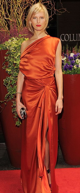 Karolina Kurkova at the charitable event