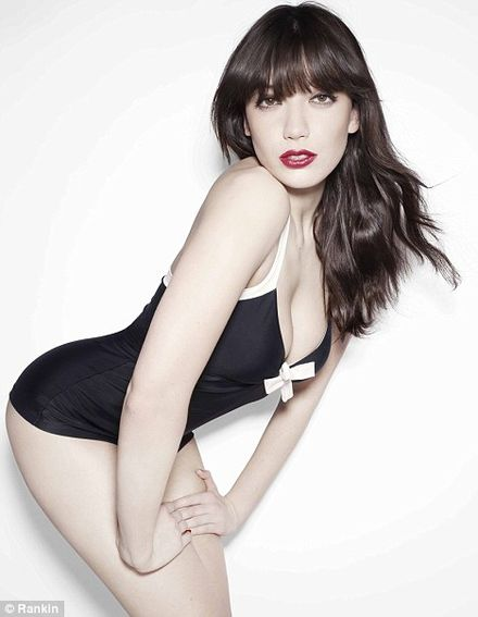 Daisy Lowe: \'I\'m proud of my curves\'