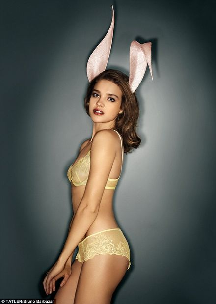 Natalia Vodianova is one hot bunny