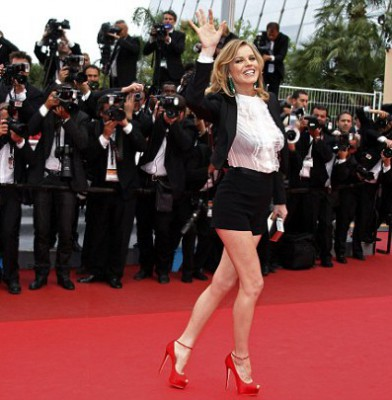Eva Herzigova on the red carpet again