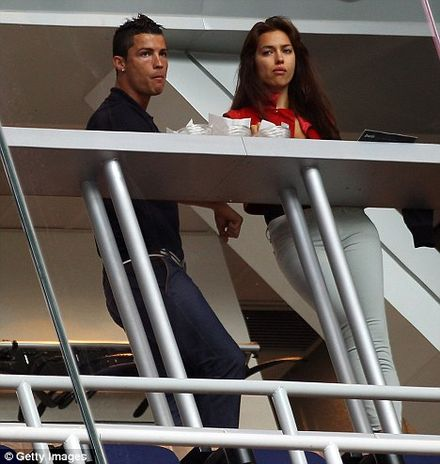 Cristiano Ronaldo has Real Passion for Model Irina Shayk
